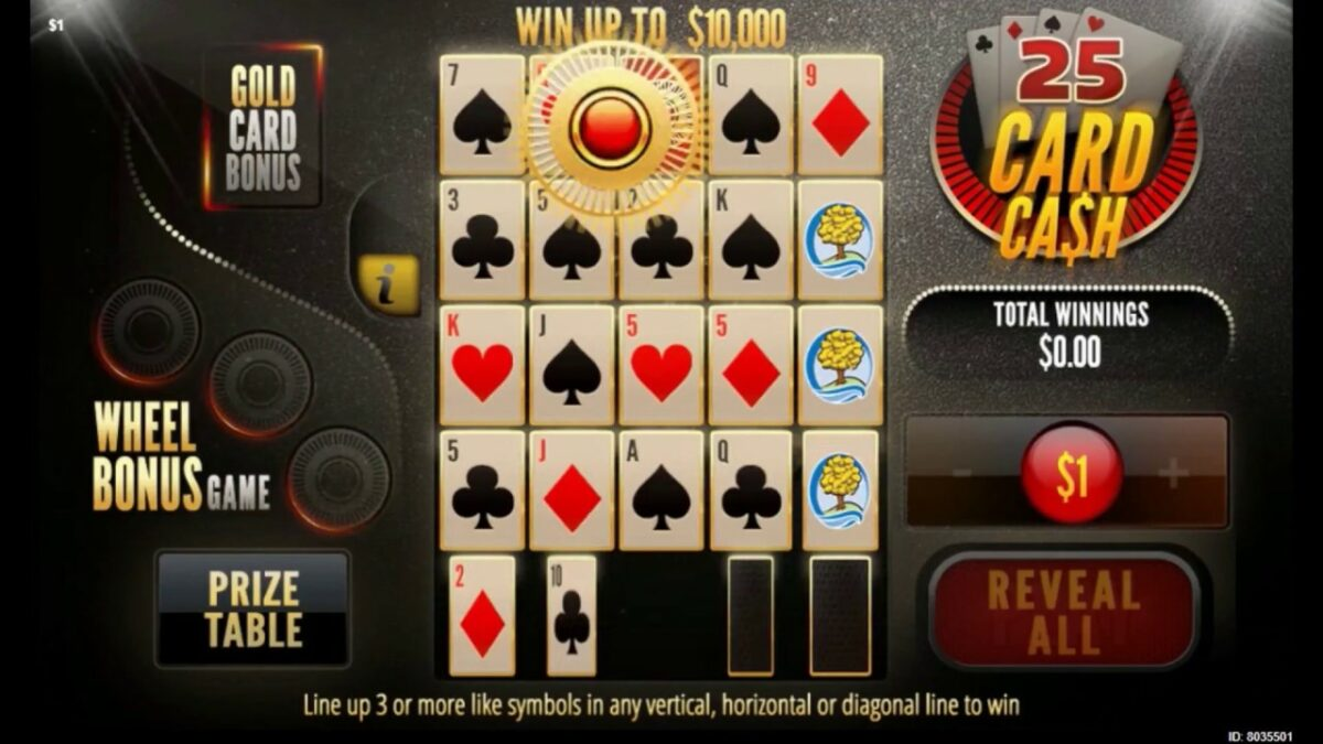 The Cash 25 Game